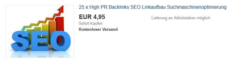 Backlinks bei eBay kaufen