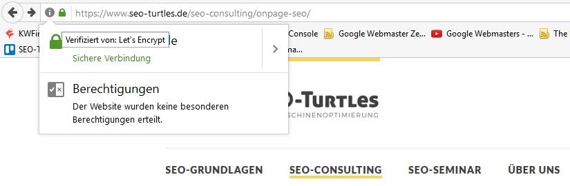 SSL im Browser