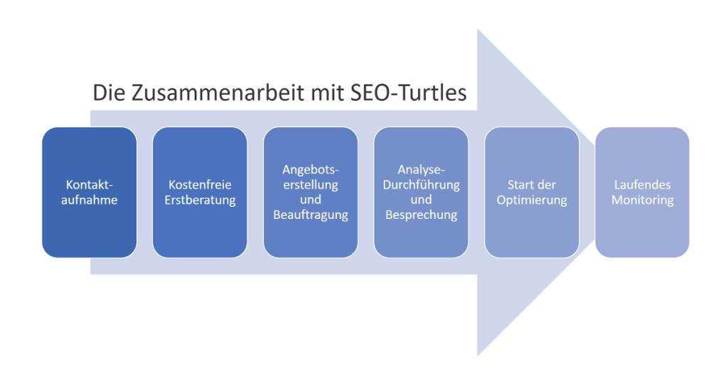 Vorgehensweise SEO mit SEO-Turtles
